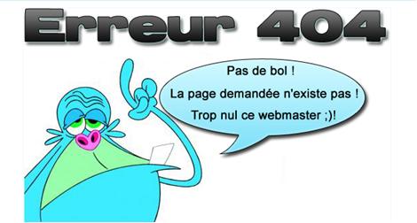 Gazelle Du Web Gerer Les Erreurs 404