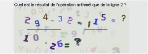 Antispam arithmétique