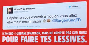 Réseaux sociaux entreprise - Exemple Burger King Twitter